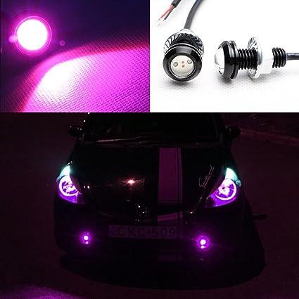 Delightful Newsun Black Shell Aluminum 6w SMD LED Eagle Eye Auto Lamps Car Back Up  Backup Reverse