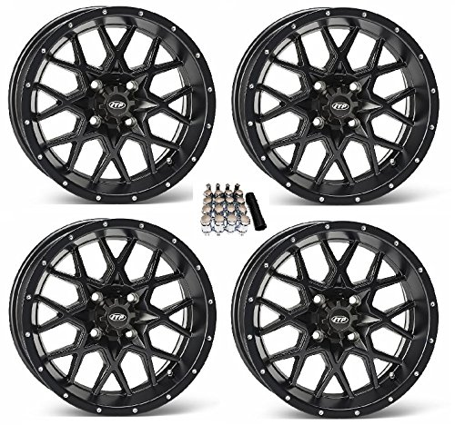 ITP Hurricane UTV Wheels/Rims Matte Black 12