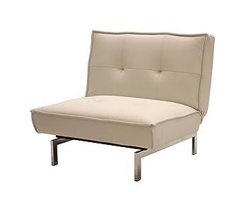 DHP Belle Modern Accent Chair   White