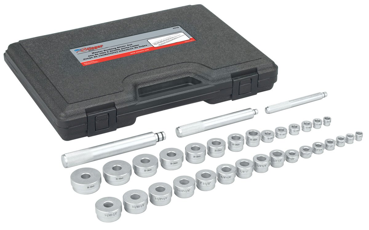 OTC 4410 Metric and Standard Master Bushing Drive Set - 33 Piece