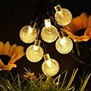 Amazon Lightning Deal 70% claimed: Globe Solar String Lights