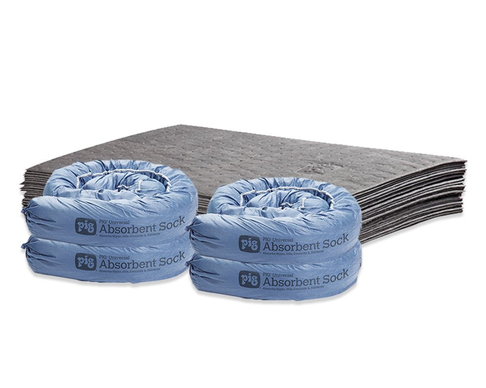 Basement Water Absorbing Kit by New Pig - Mildew-Resistant