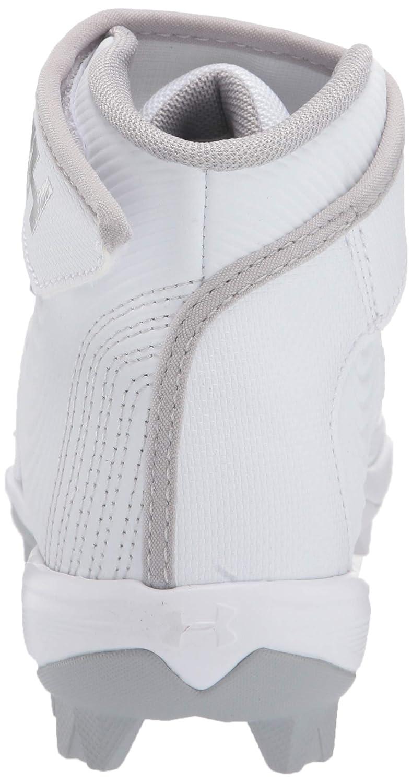 Baseball Shoe 100 6 Under Armour Boys Harper 4 Mid RM Jr //White
