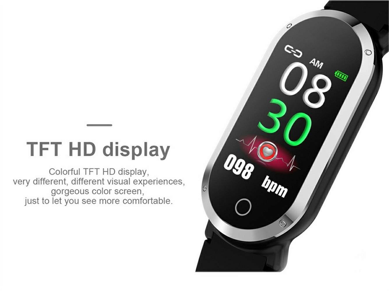 Amazon.com: WoCoo Smartwatch para mujer Hombre, Milanese ...