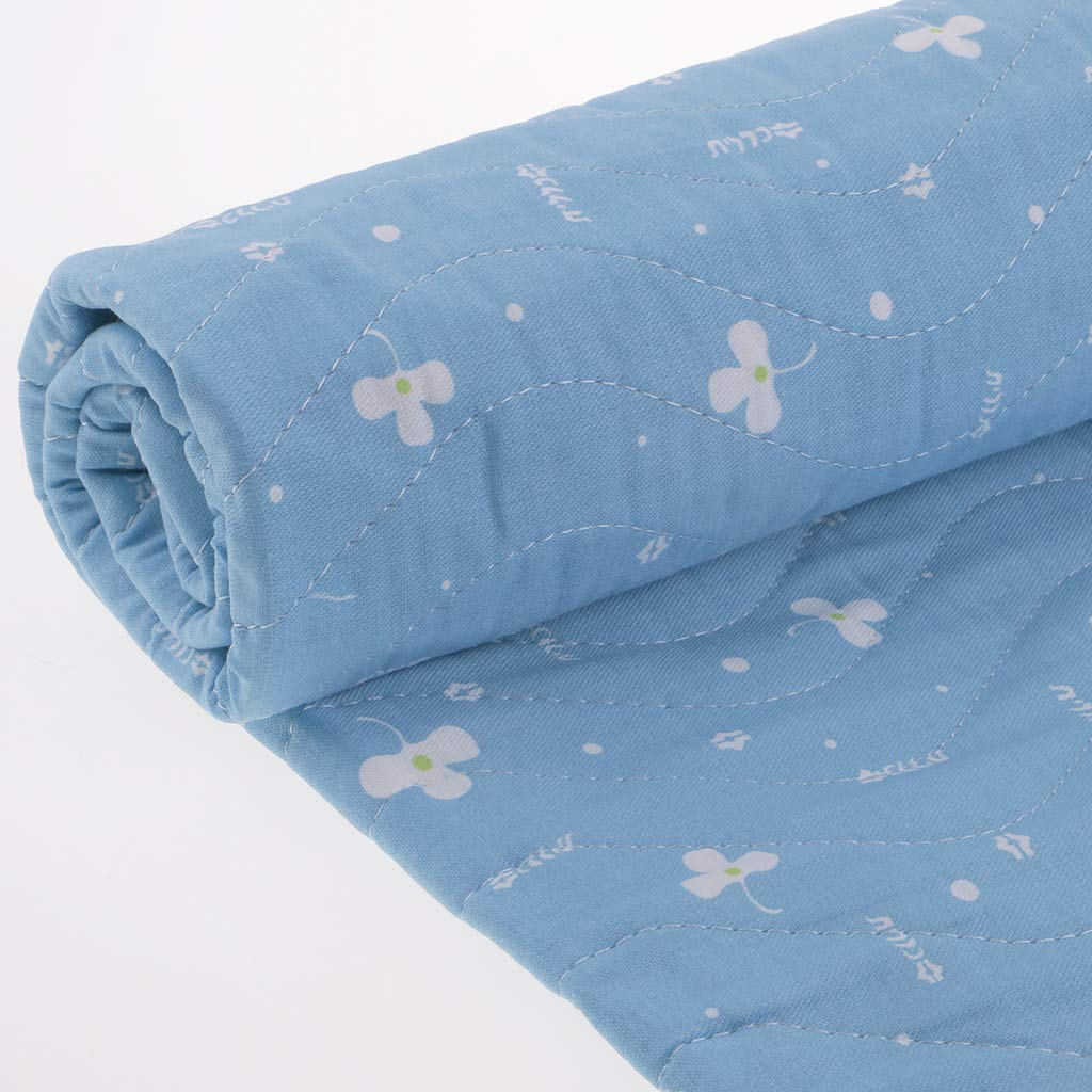 Hellery Waschbare Unterlage Bettmatratze Unterlage Wiederverwendbarer Inkontinenz PIPI Schutz 80 /× 90 cm