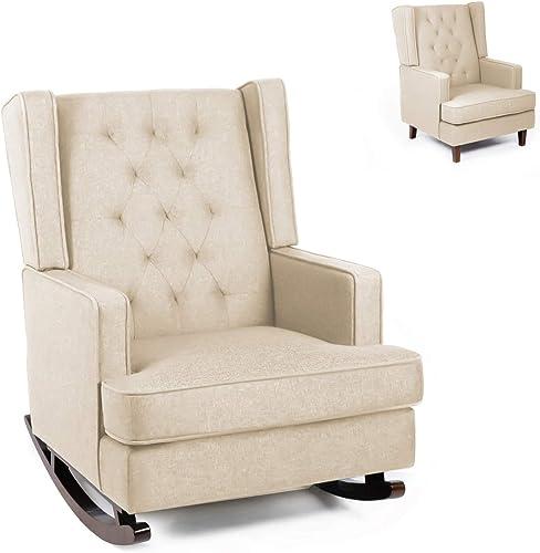 Modern Glider Rocker Chair Rocking Chair