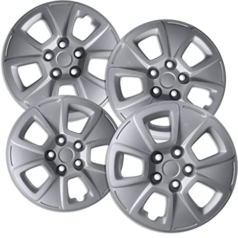 OxGord 15 inch Hubcaps Best for 2010-2013 Kia Soul - (Set of 4