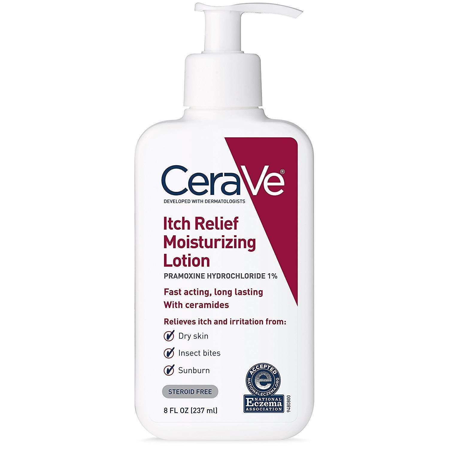 CeraVe Itch Relief Moisturizing Lotion - 8 oz, Pack of 4
