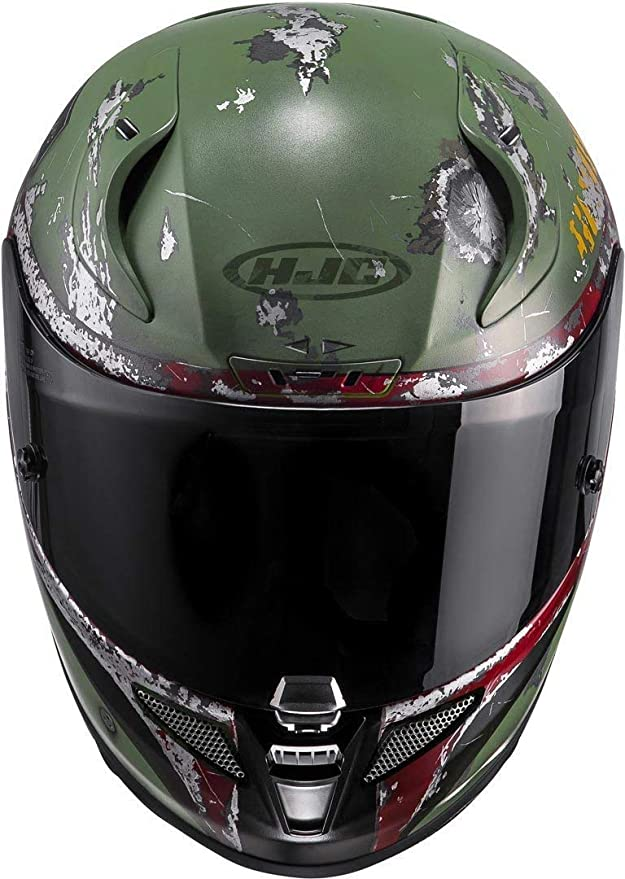 Amazon.es: HJC - 13367410/162 : HJC - 13367410/162 : Casco Integral RPHA11 Boba Fett MC4SF Color BOBA-4SF Talla XL