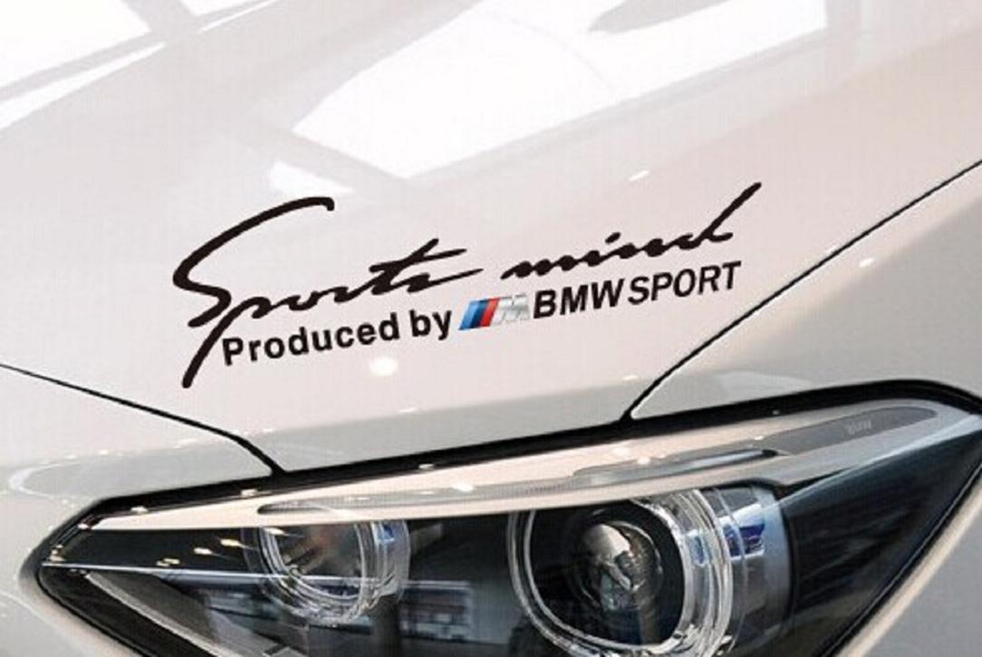 Amazoncom Sport Mind DIY Decorative Headlight Sticker For BMW - Bmw car decals stickers