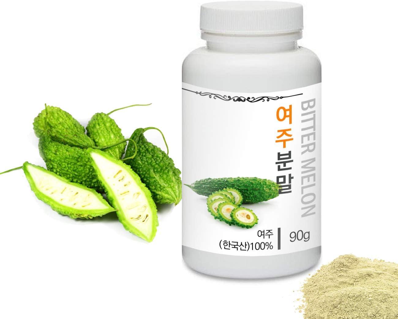 [Medicinal Herbal Powder] Prince Natural Bitter Melon Powder/프린스 여주분말, 3.2oz / 90g (Bitter Melon/여주)