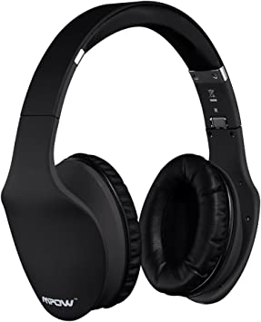 Amazon Com Mpow Touch Control Bluetooth Headphones W 40mm Neodymium Drivers Built In Mic Stereo Wireless Headset For Cell Phone Pc Electronics