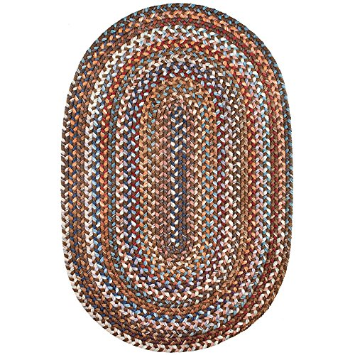 Amazon Com Tribeca Textured Braided Rug 100 Wool Rug