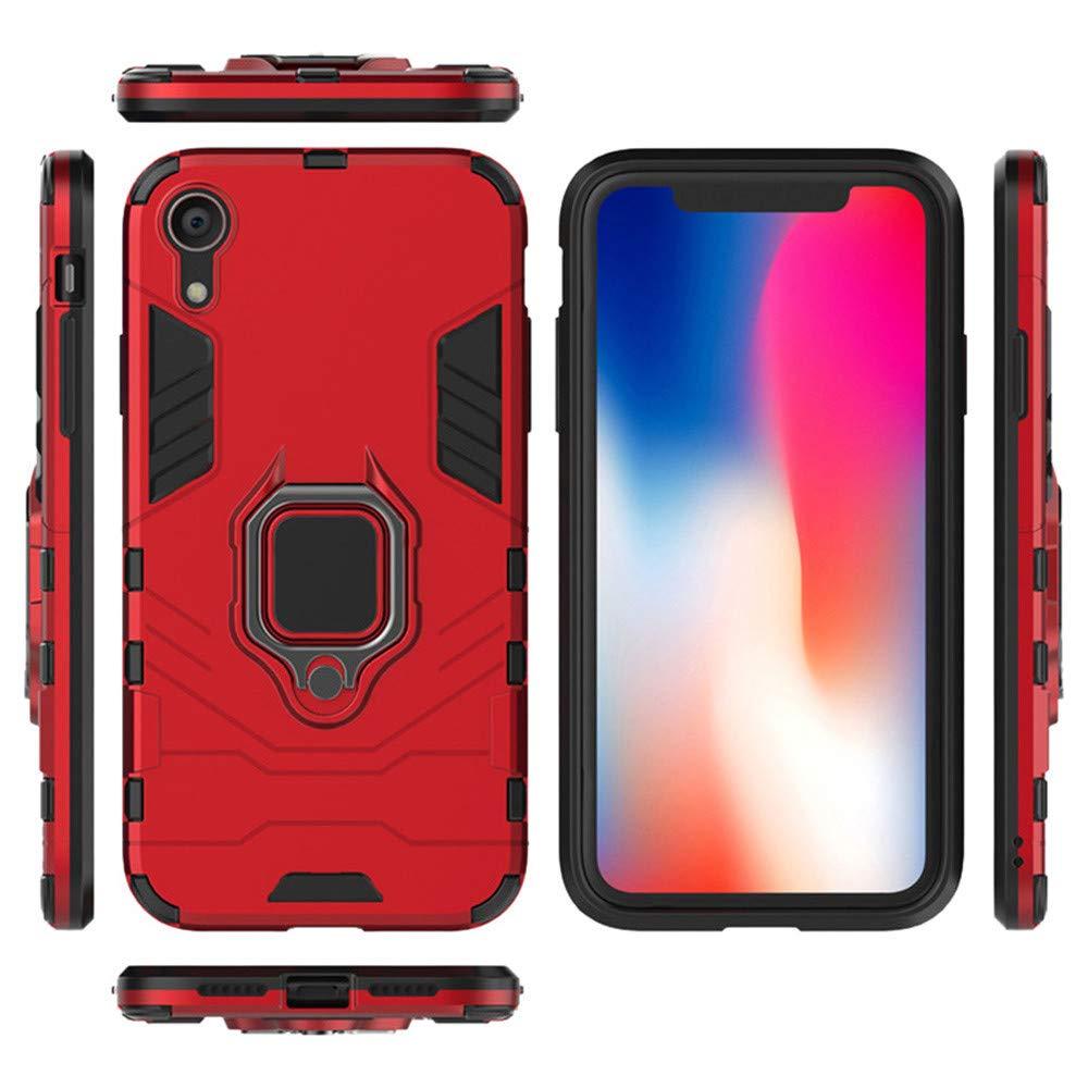 Grau F/ür iPhone XS Max 6.5 Zoll H/ülle,Colorful Premium Handyh/ülle mit Ring Fingerhalterung 360 Grad Drehbarer St/änder Anti-Scratch Dual Layer Bumper Sto/ßfest Schutzh/ülle f/ür iPhone XS Max 6.5 Zoll