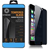 iPhone 6S Plus Privacy Screen Protector, KINGCOO Apple iPhone 6 Plus Privacy Screen Protector Anti-Spy Tempered Glass Screen Guard - Keep Your Information Private - Protect Your Screen from Scratches and Drops