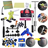 Fly5D 71pcs Auto Body Car Dent Removal Kit Dent Puller Tools Set PDR Tools