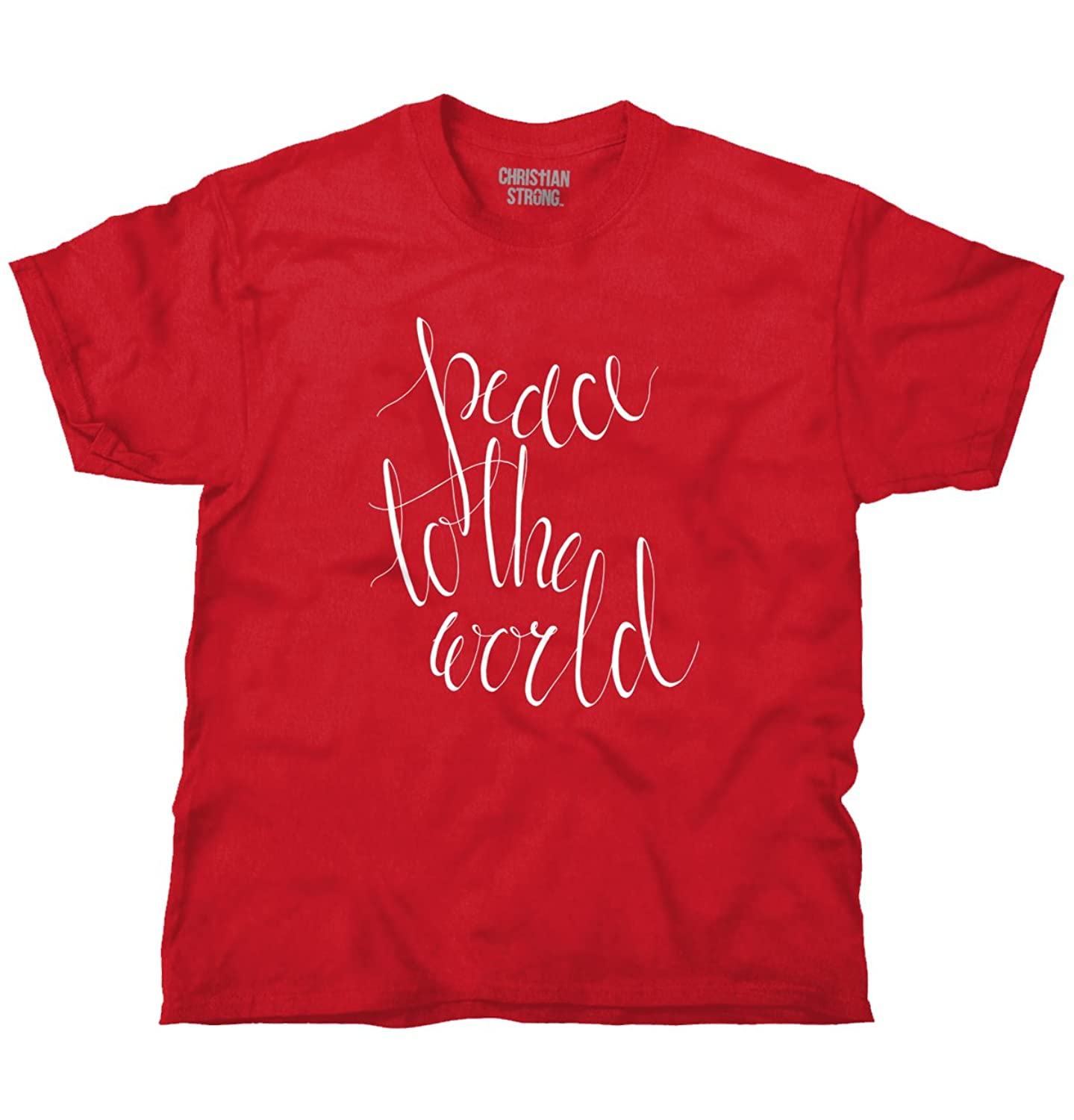 Peace to the World Christmas Gifts Funny Shirts Gift Ideas T Shirt Tee
