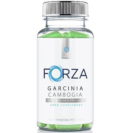 FORZA FITNESS Garcinia Cambogia - Quema Grasas Natural - Suplemento Dietético - 90 Cápsulas / Para un Mes