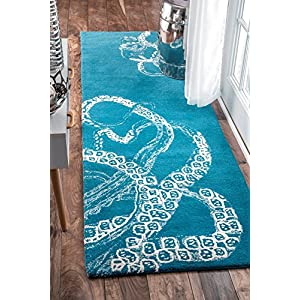 61NMb2LzJ0L._SS300_ 50+ Octopus Rugs and Octopus Area Rugs For 2020