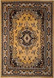 Home Dynamix Premium 7069-101 Sand 7-Feet 8-Inch by 10-Feet 7-Inch Traditional Area Rug