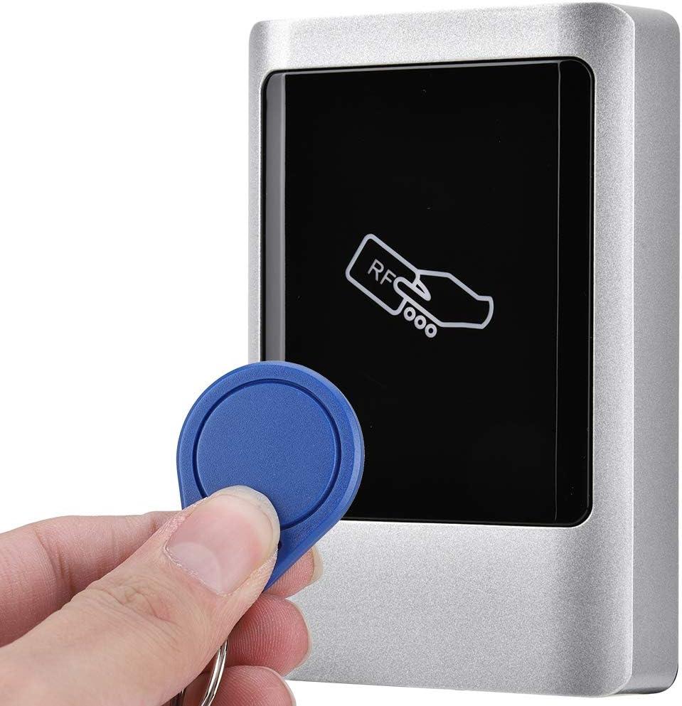 der 1000 Benutzer unterst/ützt IC RFID-Leser Au/ßenzugangsmanagement Smart Card IP65 Wasserdichter Metall-Touchscreen-Zugangscontroller Zugangskontrollkartenleser