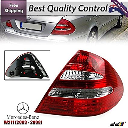 Amazon com: REAR TAIL Light Lights Lamps Benz Mercedes W211