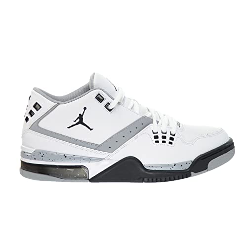 best cheap 89bbc 53650 Jordan Flight 23 Men s Lifestyle Shoes White Black-Wolf Grey 317820-117 (