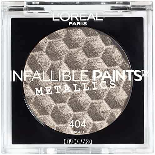 L'Oreal Paris Cosmetics Infallible Paints Metallics Eyeshadow, Caged, 0.09 Ounce