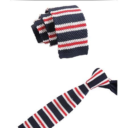 Gespout Corbata de Hombre Mujer Chicos Clásica Tejer Tie Tuxedo ...