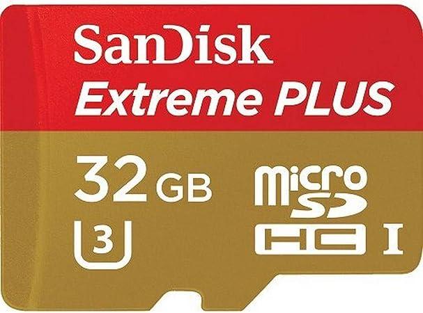 Sandisk Extreme Plus Microsdhc 32gb Uhs I Class 10 U3 Computer Zubehör