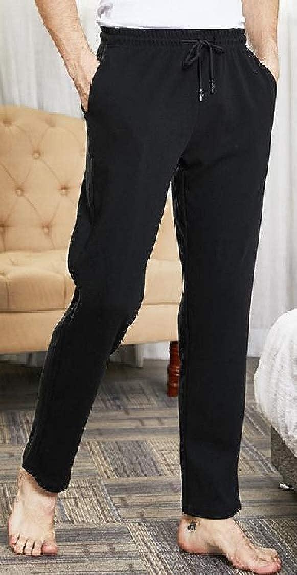 Lutratocro Mens Sleepwear Baggy Elastic Waist Yoga Lounge Pajama Pants
