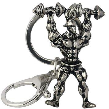Ou lida Deportes Fitness Llavero de Metal, C: Amazon.es ...