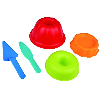 Hape Baker's Trio Sand and Beach Toy Set Toys, Multicolor: Toys & Games