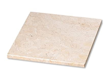 Creative Home 74693 Byzantine Marble Pastry Board, 12 by 12-Inch, Champagne