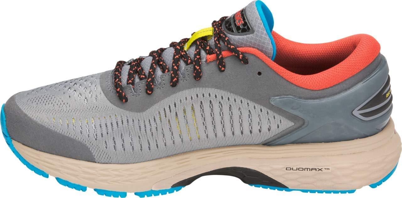 ASICS Gel-Kayano 25 Men's Running Shoe, Stone Grey/Black, 7 D US by ASICS (Image #4)
