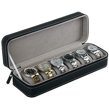 Amazon.com: Aco&bebe House Caja organizadora de relojes de ...