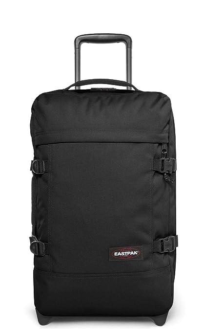 3d44cd94d2b Eastpak Strapverz S Black Polyester Rolling Backpack, 42L: Amazon.co ...