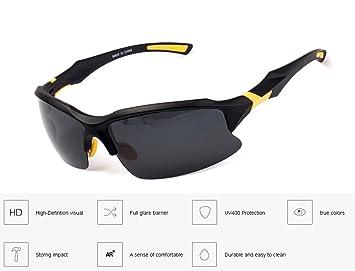 Svance Polarizadas Deporte Gafas de Sol para Hombres y Mujeres en Ciclismo Esquí Pesca Golf Deportivas