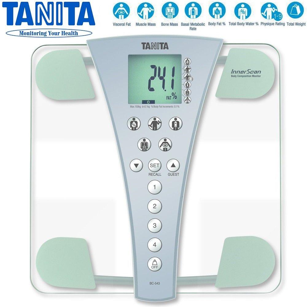 Casa de precisión InnerScan Tanita Digital de baño báscula de análisis de agua porcentaje de grasa corporal Composición Monitor escala - más vendidas del ...