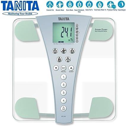 Tanita bc543 Innerscan Grasa Corporal Agua composición Monitor escalas Nuevo