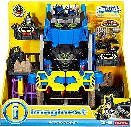 imaginext  : Fisher-Price Imaginext DC Super Friends Robo Batcave ...