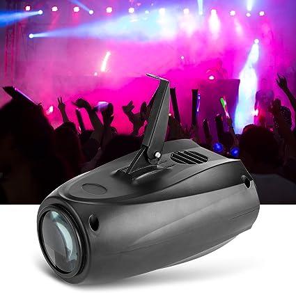 10W Activado por Sonido RGBW LED Luces del Escenario Iluminación ...