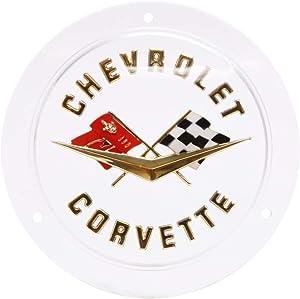Trim Parts 5090 Rear Emblem (1958-1960 Corvette Gold)