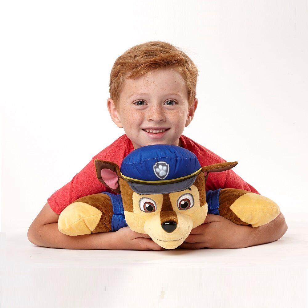 Pillow Pets Nickelodeon Paw Patrol, Chase Police Dog, 16'' Stuffed Animal Plush Toy by Pillow Pets (Image #3)