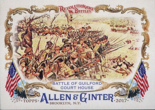 Guilford Collection (2017 Topps Allen and Ginter Revolutionary Battles RB-9 Battle of Guilford Court)