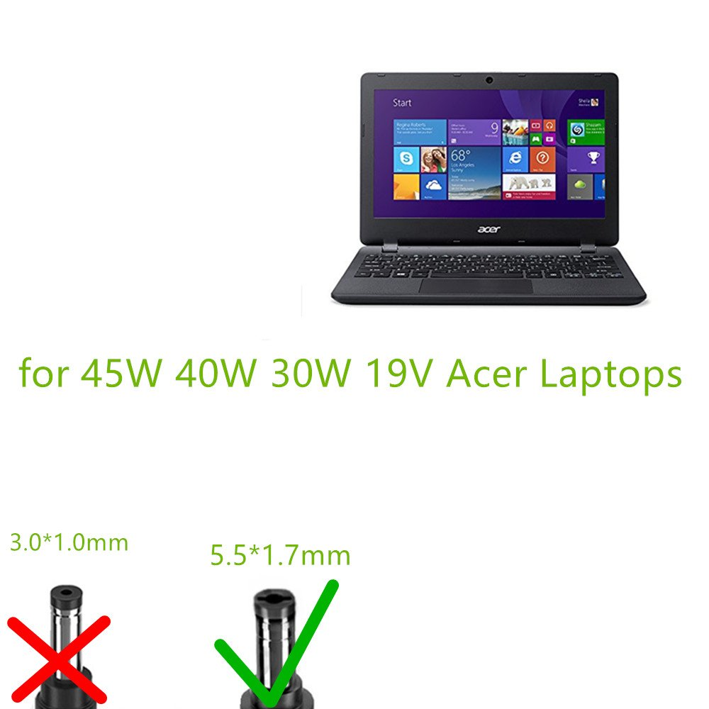 Tv Gs Hky 19v Notebook Netzteil Ladegert Computer Keyboard Laptop Acer Aspire One V5 121 131 171 123 Zubehr