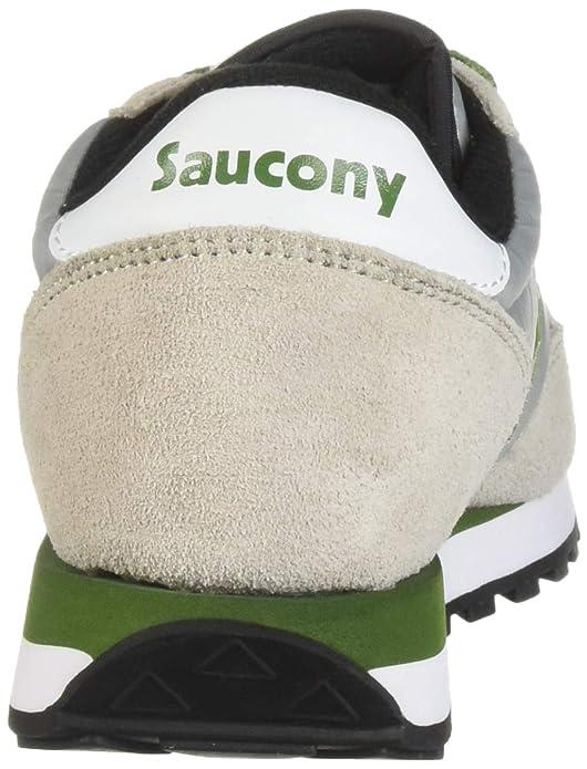 SAUCONY Zapatos Hombre Zapatillas Bajas S2044 511 Jazz Original Talla 42 GrisVerde