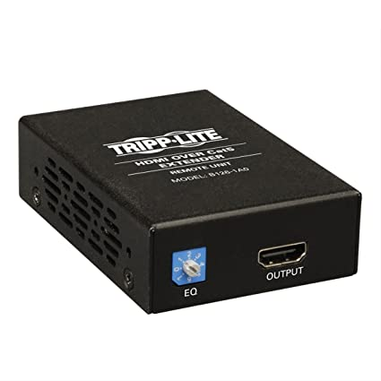 amazon com tripp lite hdmi over cat5 cat6 extender extended range rh amazon com