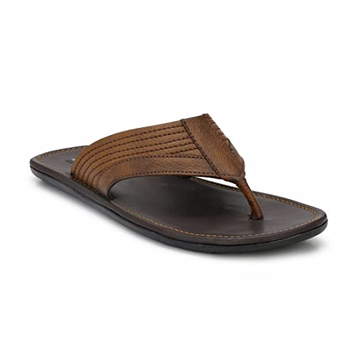 5c5a146cc9f Levanse Men s Leather Slippers  Buy Online at Low Prices in India ...