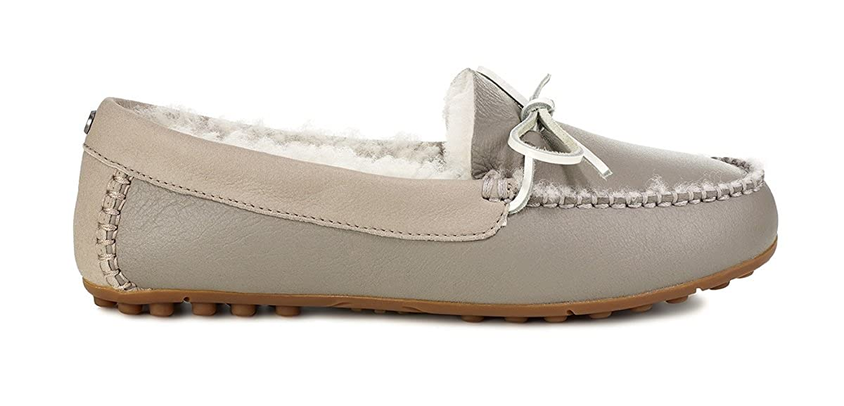 64c581f9495 UGG Women s Deluxe Loafer Seal 10 B US B (M)  Amazon.co.uk  Shoes   Bags